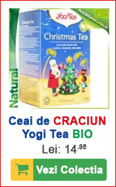 Ceai Yogi Tea Christmas, Craciun 2017