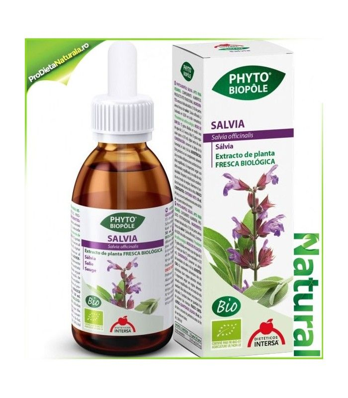 SALVIE extract din plante proaspete pt Probleme Gastro-Intestinale, Metabolism