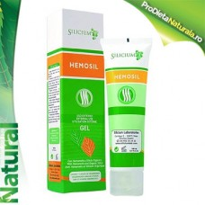 Gel Tratament Natural Hemoroizi cu Hamamelis si Siliciu Organic 100 ml