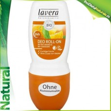 Deodorant Roll on (Fara ALUMINIU!) 24H Orange Feeling Lavera 50 ml