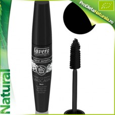Mascara rimel Negru pt Volum Intens Lavera BIO 13 ml