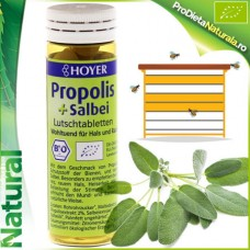 Propolis + Salvie 60 Tablete Masticabile Hoyer