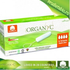 Tampoane Organic SUPER PLUS 16bc.